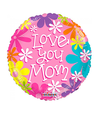 Globos Folieballon - Love You Mom - 45 cm