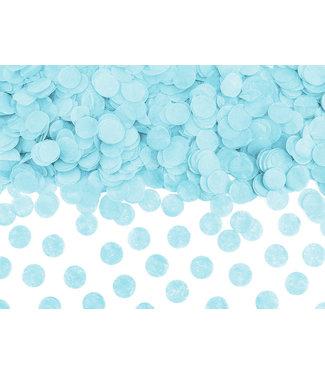PartyDeco Confetti lichtblauw - 15 gram