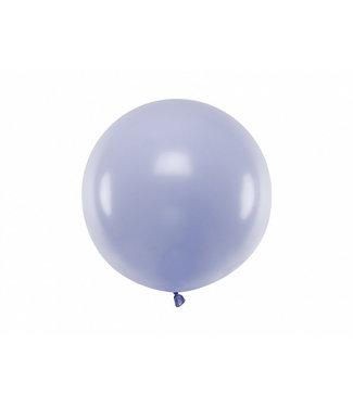 PartyDeco Reuzeballon | pastel lila | 60 centimeter