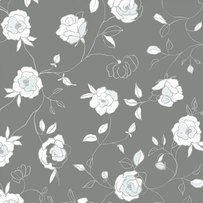 Tafelzeil Roses Mint Groen