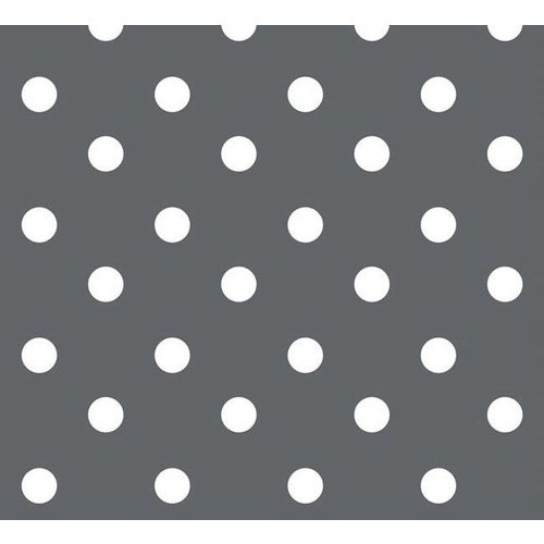 Tafelzeil Stip Grijs