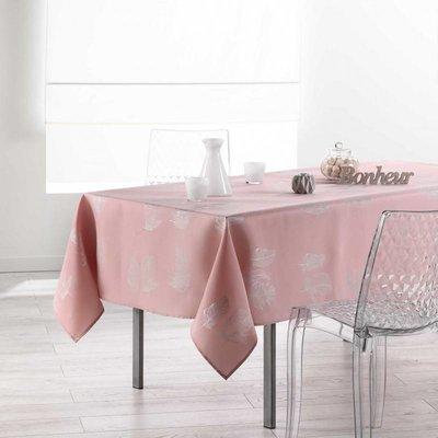 Tafelkleed Plumia Roze 150x240 CM
