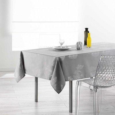 Tafelkleed Plumia Grijs 150x240 CM