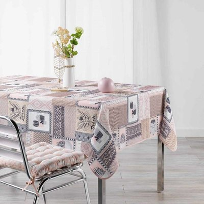 Tafelkleed Carlota Roze 150x240 CM