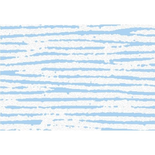 Raamfolie Statisch 2D print 45CM Hoog - New York Blauw