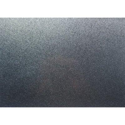 Placemat PVC Glitter Zwart