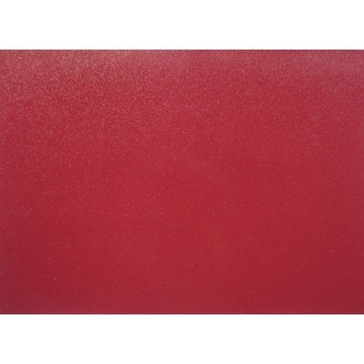 Placemat PVC Glitter Rood