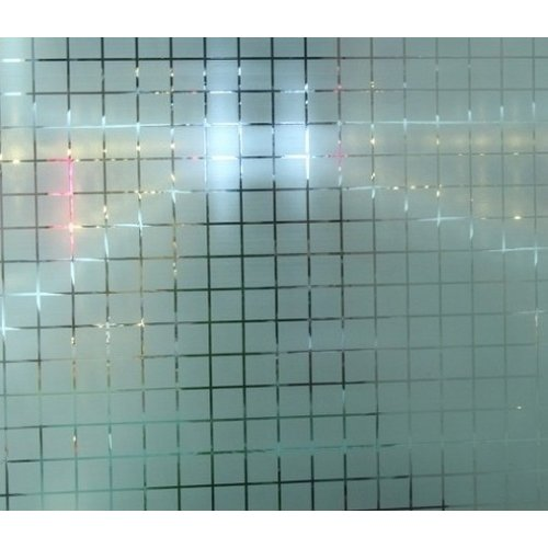 Raamfolie MC Statisch 2D  90CM Breed - Vierkantjes