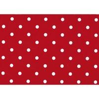 Plakfolie 45cm x 2m Rode Stippen