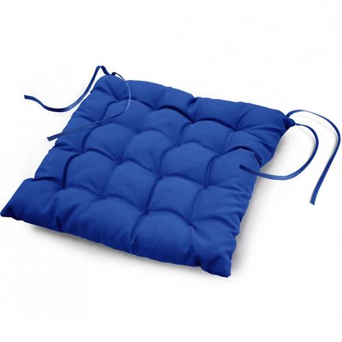 Stoelkussen Essential Blauw 40 x 40 cm