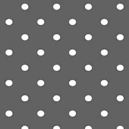 Plakfolie 45cm x 2m Zwarte Stippen