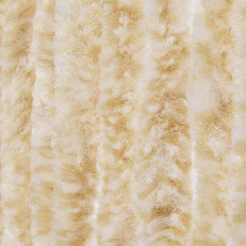 Kattenstaart beige/wit mix