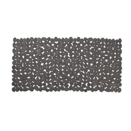 Antislip Douchemat Zwart 36 x 71 cm