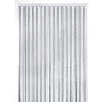 Victoria deurgordijn grijs/wit duo
