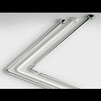 Douchestang Hoek Tubo 90x90 cm Chrome