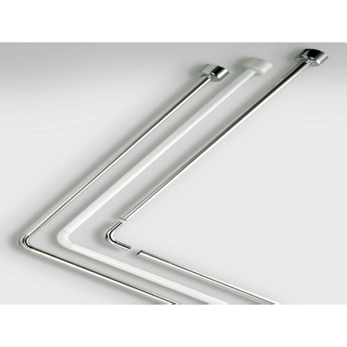 Douchestang Hoek Tubo 80x170 cm Chrome