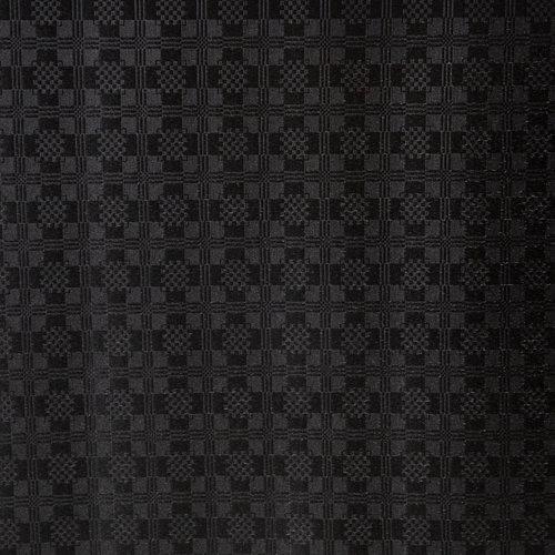 Gecoat Tafellinnen Damast Zwart