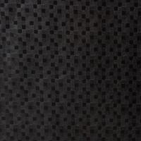 Gecoat Tafellinnen Blokjes Zwart