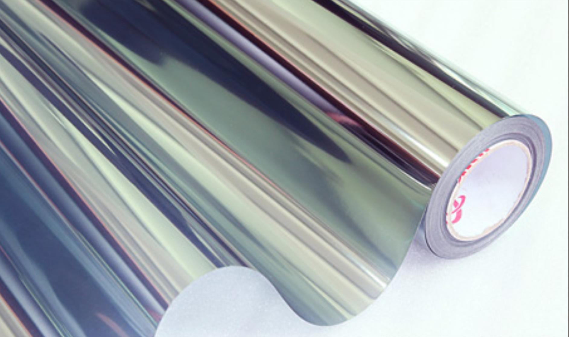 Zonwerende Raamfolie Statisch Donker Grijs - 152CM Breed