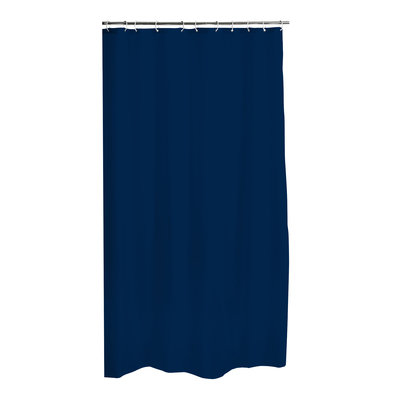 Douchegordijn 100% Peva Blauw 180 x 200 cm