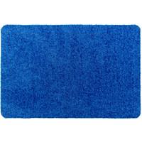 Droogloopmat Deurmat Op Maat Washclean Blauw - 7 mm Dik 115cm Breed