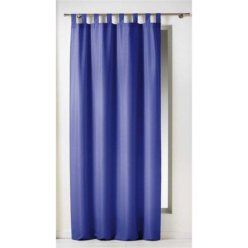 Kant En Klaar Gordijn Ophanglus Blauw 140 x 260 cm