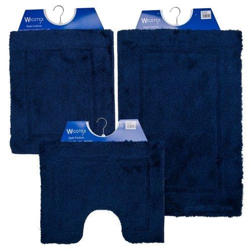 Badmat - Wcmat- Bidetmat Blauw