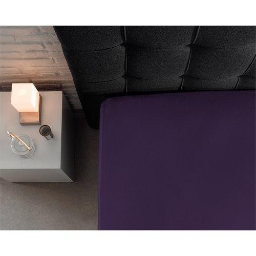 Hoeslaken Dubbel Jersey 220 gr. Purple