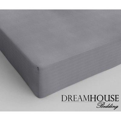 Dreamhouse Katoen Hoeslaken Grijs