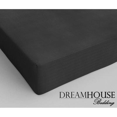 Dreamhouse Bedding Katoen Hoeslaken Antraciet