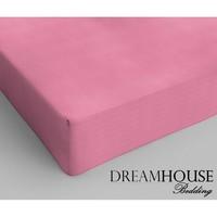Superwoonwinkel Dreamhouse Katoen Hoeslaken Roze