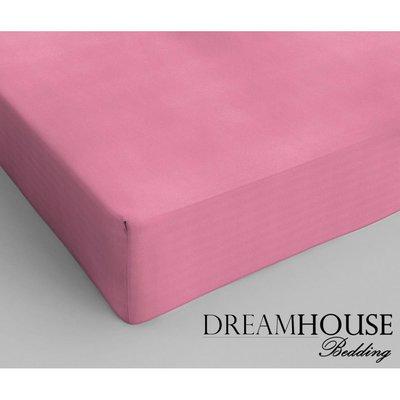 Dreamhouse Katoen Hoeslaken Roze