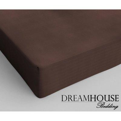 Dreamhouse Katoen Hoeslaken Bruin