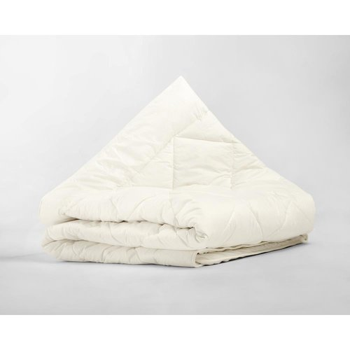 Percale Cotton Wool Touch Enkel Dekbed Crème