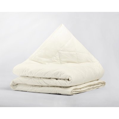 Percale Cotton Wool Touch 4-Seizoenen Dekbed Crème