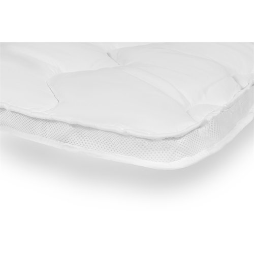 3D AIR Hotel Mattress Topper Wit