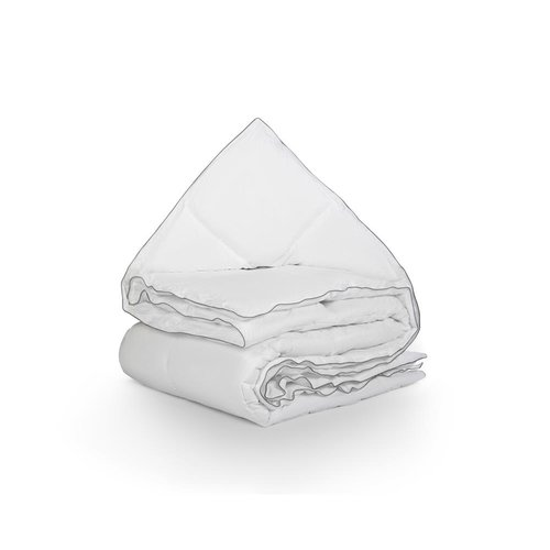 Superwoonwinkel Percale Cotton Touch Enkel Dekbed Wit