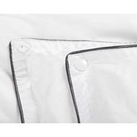 Superwoonwinkel Percale Cotton Touch 4-Seizoenen Dekbed Wit