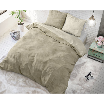 Twin Washed Cotton Taupe
