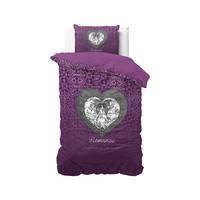 Superwoonwinkel Romance Heart Paars