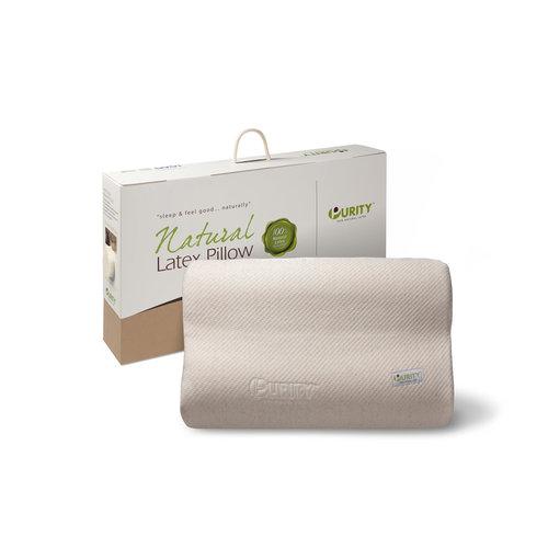 Superwoonwinkel Natural Latex Linen Pillow Crème