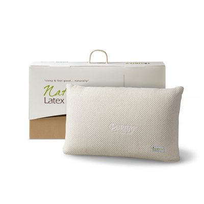 Natural Latex Classic Pillow Crème