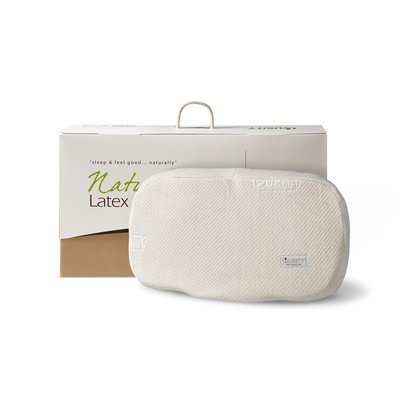 Natural Latex Anatomic Pillow Crème