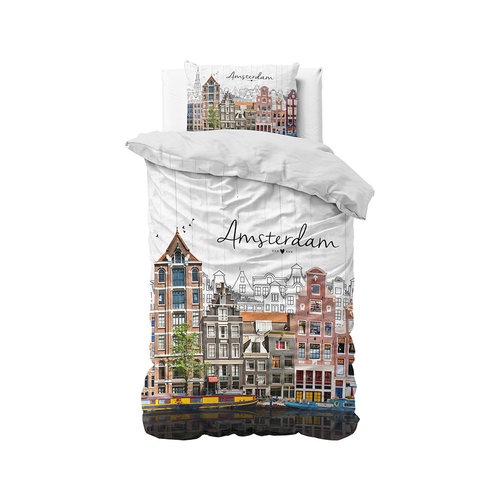 Dekbedovertrek Old Amsterdam Multi