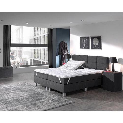 3D AIR HOTEL Split Topper 90 cm Wit