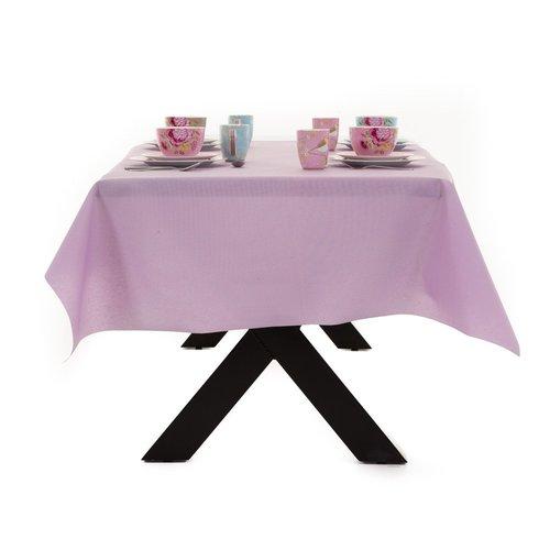 Gecoat Tafellinnen Maly Lavendel Paars Effen 160CM