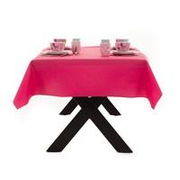 Gecoat Tafellinnen Maly Magenta Roze Effen 140CM