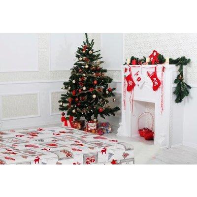 Gecoat Tafellinnen Aure Kerst