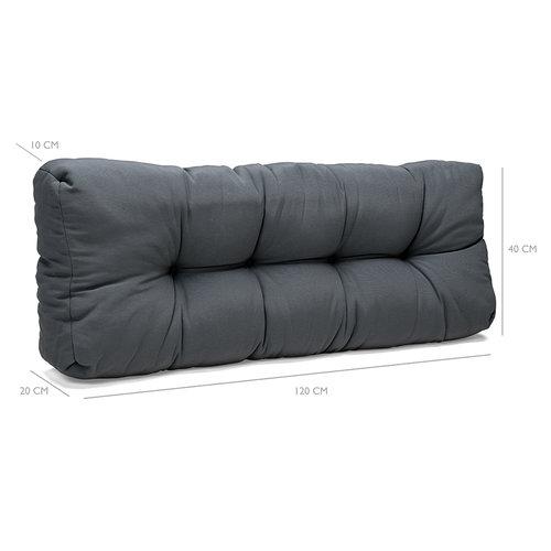 Palletkussens Comfort Grijs