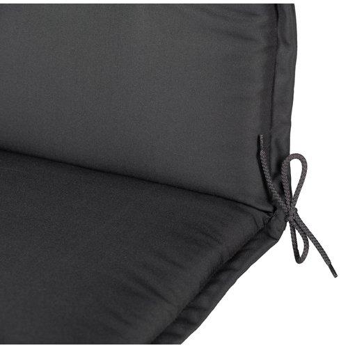 Tuinstoelkussen Comfort 120 x 50 x 6 cm - Antraciet